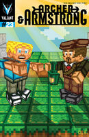 Archer and Armstrong Vol 2 23 Minecraft Variant