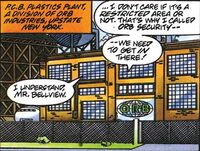 X-O Manowar Vol 1 31 010 PCB Plastics Plant