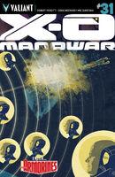 X-O Manowar Vol 3 31 Allen Variant