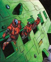X-O Manowar Vol 1 12 023 XO Commando Armor