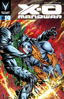 X-O Manowar Vol 3 19 Sears Variant