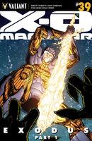 X-O Manowar Vol 3 39 Gill Variant