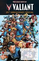 FCBD 2015 Valiant 25th Anniversary Special
