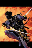 X-O Manowar Vol 3 5 Zircher Variant Ninjak Textless