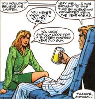 X-O Manowar Vol 1 7 002 Lauren and Aric