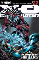 X-O Manowar Vol 3 27 Bernard Variant