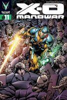 X-O Manowar Vol 3 11 Sears Variant
