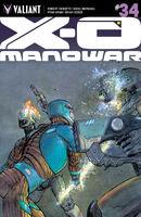 X-O Manowar Vol 3 34 Pastoras Variant