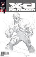 X-O Manowar Vol 3 1 3rd Printing