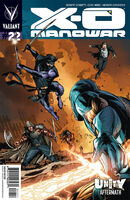 X-O Manowar Vol 3 22 Conrad Variant
