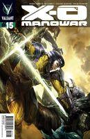 X-O Manowar Vol 3 15 Kotaki Variant