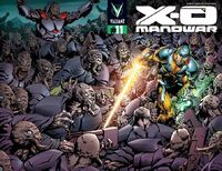 X-O Manowar Vol 3 11 Sears Variant Wraparound