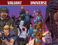 Valiant Universe 2012 FCBD Pinup by Lozzi