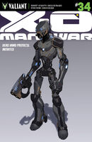 X-O Manowar Vol 3 34 Design Variant