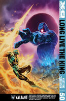 X-O Manowar Vol 3 50 Tan Variant