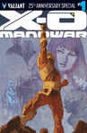 X-O Manowar Valiant 25th Anniversary Special Vol 1 1