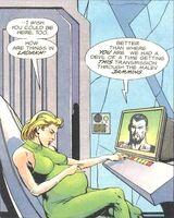 Leeja Clane pregnant and Rai Magnus-Robot-Fighter-v1-35 001