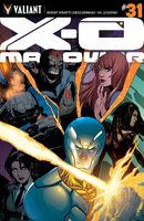 X-O Manowar Vol 3 31 Lupacchino Variant