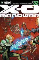 X-O Manowar Vol 3 32 Lee Variant