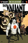 One Dollar Debut The Valiant Vol 1 1