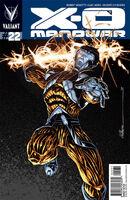 X-O Manowar Vol 3 22 Calafiore Variant