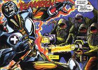 X-O Manowar Vol 1 28 006 Spider Aliens