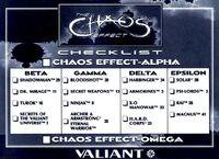 Chaos Effect Checklist bw