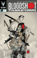 Bloodshot and HARD Corps Vol 1 14 Grampa Variant
