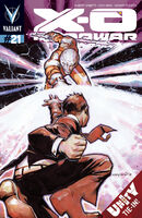 X-O Manowar Vol 3 21 Nord Variant