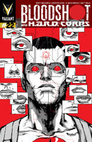 Bloodshot and HARD Corps Vol 1 22 Rossmo Variant
