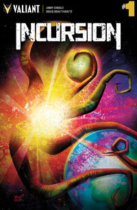 INCURSION 001 COVER-A VEREGGE
