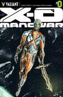 X-O Manowar Vol 3 0 Lemire Variant