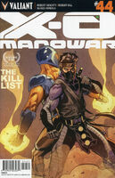 X-O Manowar Vol 3 44 Mooney Variant
