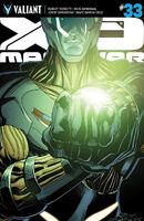 X-O Manowar Vol 3 33 ChrisCross Variant