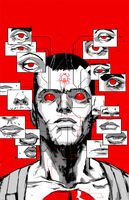 Bloodshot and HARD Corps Vol 1 22 Rossmo Variant Textless