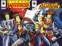 Archer and Armstrong Vol 1 8 Wraparound