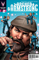 Archer and Armstrong Vol 2 2 Zircher Variant