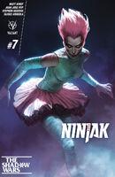 NINJAK 007 COVER-B DJURDJEVIC