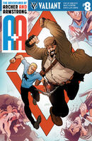 A and A The Adventures of Archer and Armstrong Vol 1 8 Level Variant