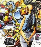 X-O Manowar Vol 1 40 003 Aric and Empath