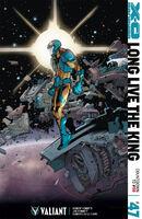 X-O Manowar Vol 3 47 Lafuente Variant