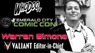 At Emerald City Comic Con with Valiant's Warren Simons