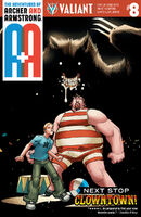 A and A The Adventures of Archer and Armstrong Vol 1 8 Lafuente Variant