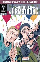 Archer and Armstrong Vol 2 25 Walsh Variant