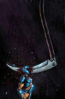 Book of Death The Fall of X-O Manowar Vol 1 1 Lee Variant Textless