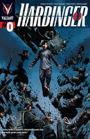 Harbinger Vol 2 Blue Variant