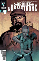 Archer and Armstrong Vol 2 1 Henry Variant