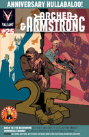 Archer and Armstrong Vol 2 25 Crystal Variant