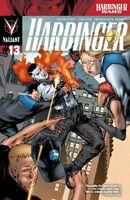 Harbinger Vol 2 13 Evans Variant