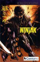 NINJAK 001 VARIANT COMICSPRO